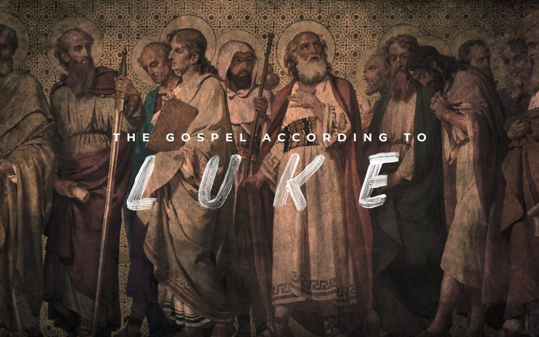 The Gospel According To Luke Twelve Disciples-Subtitle